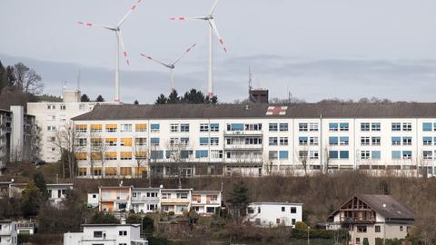 Blick auf Helios-Klinik in Bad Schwalbach
