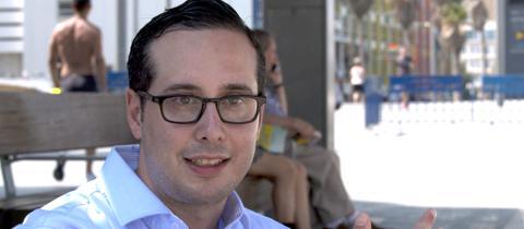 Früher Frankfurt, heute Tel Aviv: Jonathan Heuberger ist nach Israel ausgewandert