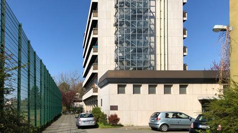 Das Hotel Albo im Frankfurter Stadtteil Niederrad