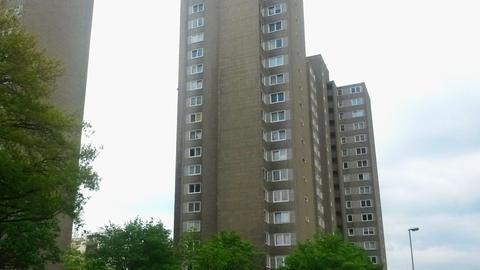 Hochhaus-Siedlung in Offenbach