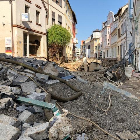 THW-Einsatz in Bad Neuenahr