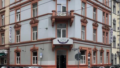 Das Hotel Columbus im Frankfurter Bahnhofsviertel