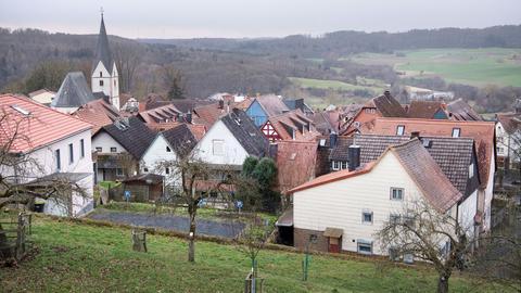 Blick auf Homberg (Ohm)