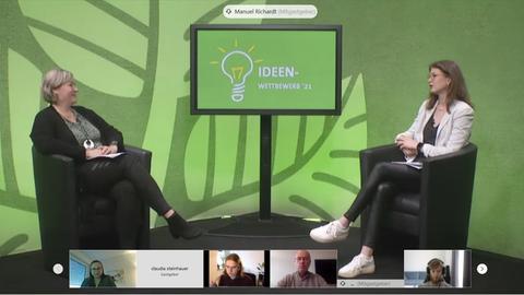 Online-Preisverleihung beim Ideenwettbewerb der Hochschule Fulda
