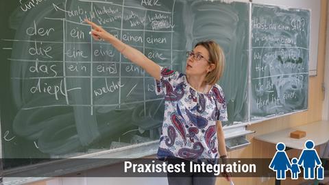 Integrationskurs Klasse Deutschlehrerin