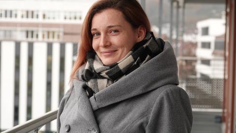 Intensivkrankenschwester Olga Tschamkin von den Main-Kinzig-Kliniken