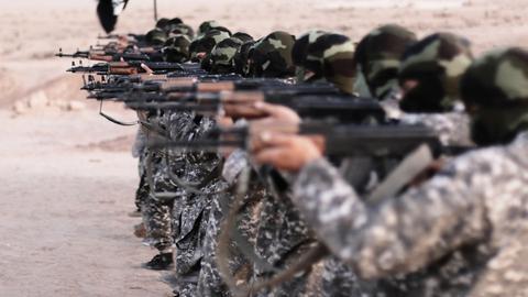IS Terror Rebellen Syrien Kämpfer