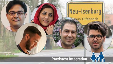 Fünf Flüchtlinge - fünf Schicksale