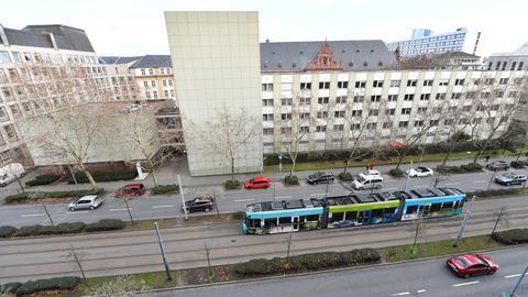 Justizgebäude Frankfurt