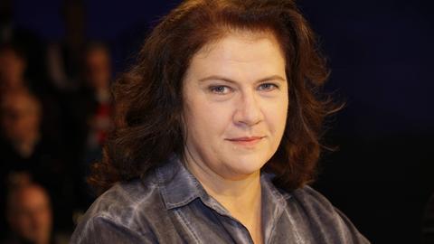 Die ehemalige Grünen-Politikerin Jutta Dirfurth zu Gast bei einer Talkshow.