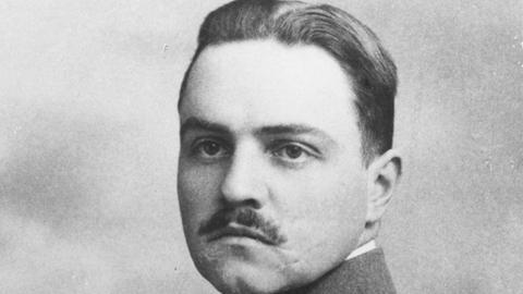 Hermann Kaiser während des 1. Weltkrieges