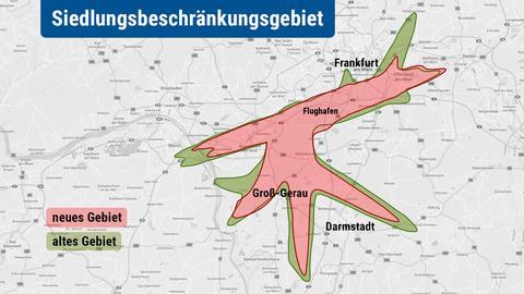 Karte Siedlungsbeschränkungsgebiet