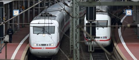 Der Bahnhof Kassel-Wilhelmshöhe.
