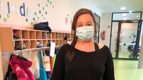 Daniela Lahrs, Leiterin eines Kindergartens in Friedrichsdorf