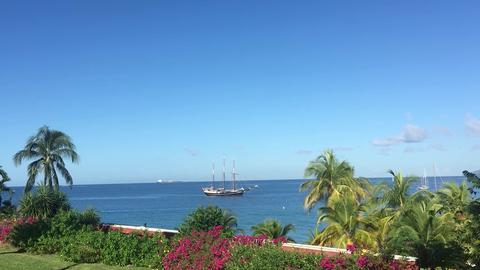 """Segelschiff """"Regina Maris"""" in Martinique"""