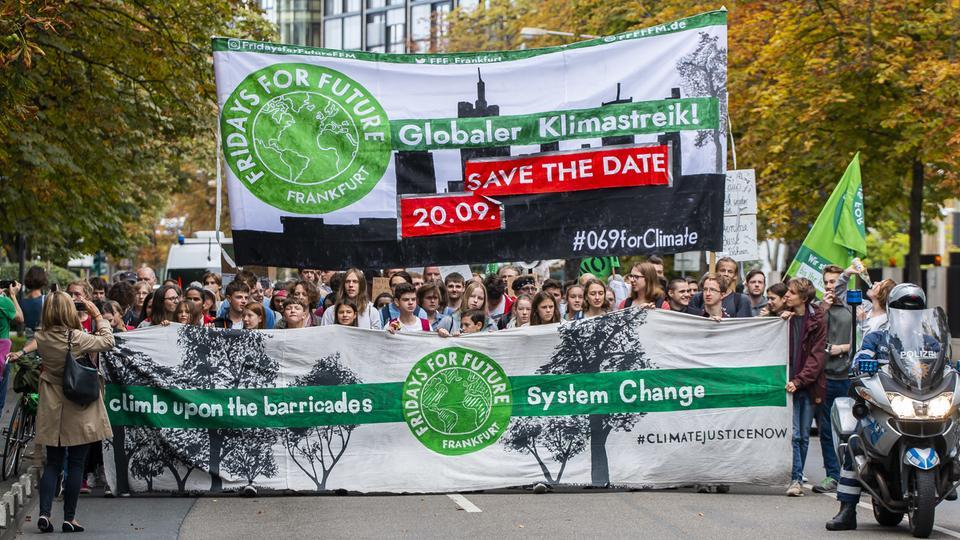Am 20. September sind alle zum Streik fürs Klima aufgerufen