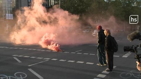 Klimastreik in Frankfurt