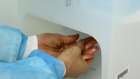 Hände Klinik Hygiene Desinfektion Gesundheit Sujet