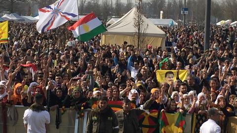 Kurden-Demo Newroz