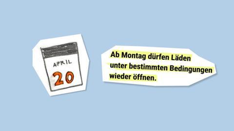 Ladenöffnung in Hessen ab Montag