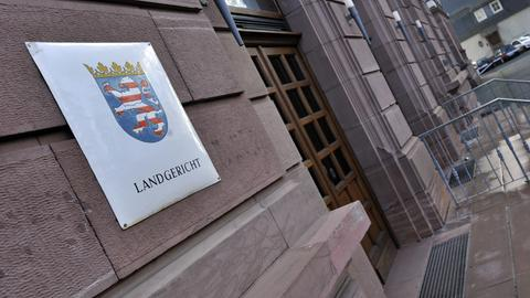Eingang Landgericht Gießen