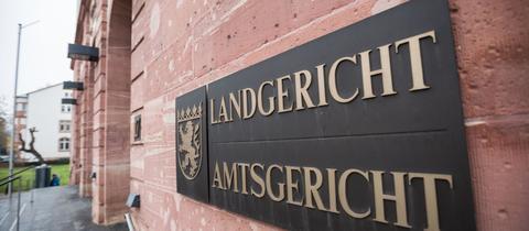 Schild Landgericht Amtsgericht
