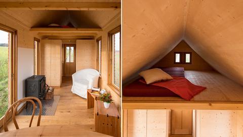 """""""Tiny Houses"""" Musterhaus der Tischlerei Bock"""