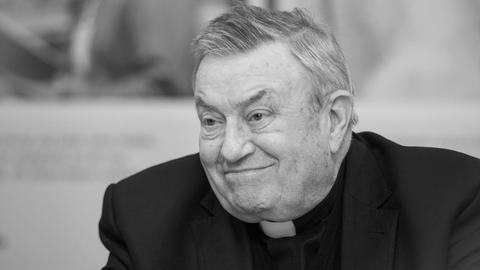 Kardinal Karl Lehmann bei einer Veranstaltung Mitte Dezember 2016