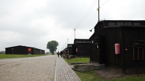 Gedenkstätte des Konzentrationslagers Lublin-Majdanek in Polen.