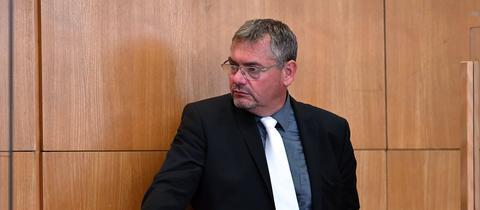 Geschasster Verteidiger: Frank Hannig.