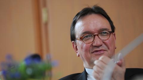 Der Landesbischof der EKKW, Martin Hein