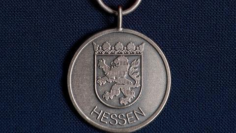 Hessische Medaille für Zivilcourage