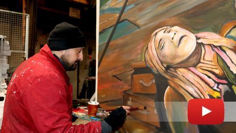 Oguz Sen und das Kunstwerk