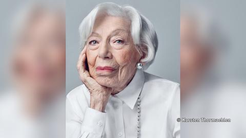 Model mit 103 Jahren: Ingeborg Wolf