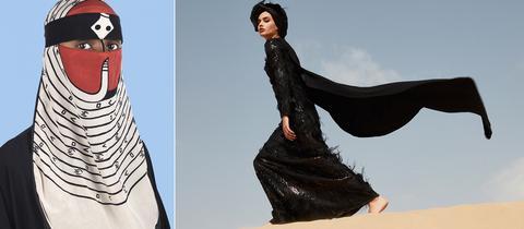 """Niqab von Wesaam Al-Badry - """"Desert Dream Collection"""" von Rasit Bagzıbagli"""