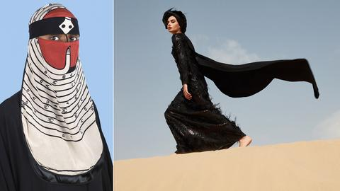 "Niqab von Wesaam Al-Badry - ""Desert Dream Collection"" von Rasit Bagzıbagli"