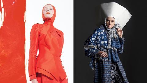 Modest fashion: Datin Haslinda Abdul Rahim für Blancheur - Windri Widiesta Dhari für NurZahra
