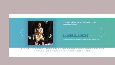 """""""Löwen im Herz"""" und den Doppeladler vor der Brust: Shkodran Mustafi auf der Seite des Sozialministeriums"""
