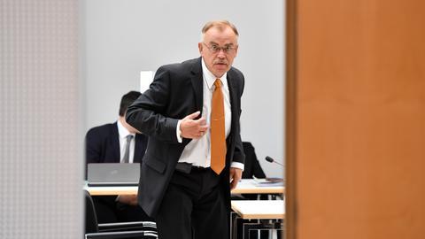 Der frühere Landespolizeipräsident Norbert Nedela