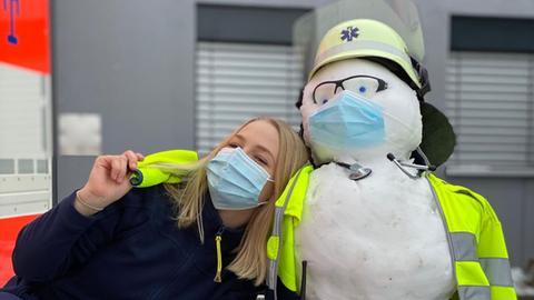 Sophie Willberg ist Notfallsanitäterin