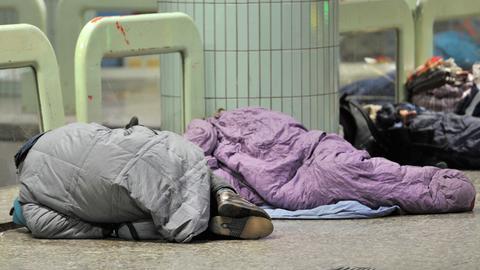 Obdachlose Frankfurt