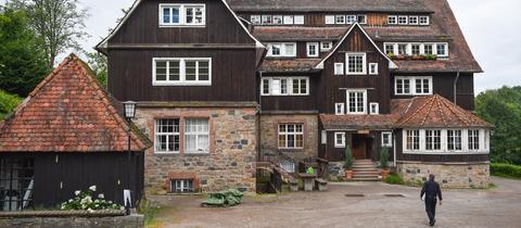Gebäude der ehemaligen Odenwaldschule in Heppenheim
