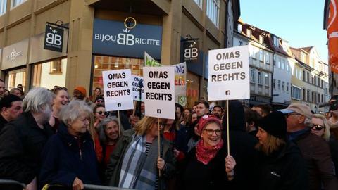 Fulda Demo III. Weg