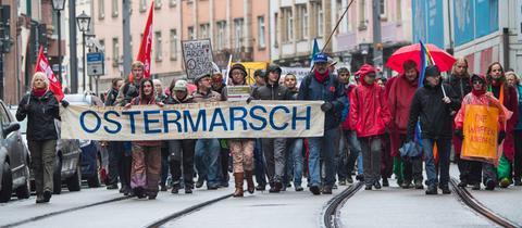 Ostermarsch in Frankfurt