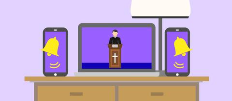Ein Ostergottesdienst im Fernsehen