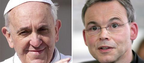 Papst Franziskus und sein Sorgenkind Franz-Peter-Tebatz-van Elst