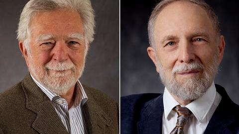 Die Paul-Ehrlich- und Ludwig-Darmstaedter-Preisträger 2018: Anthony Cerami (links) und David Wallach