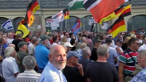 Pegida-Demo am Montag in Dresden