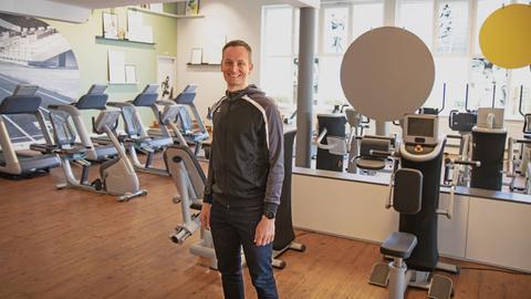 Portrait Stefan Vedder, Fitnessstudioleiter aus Gießen