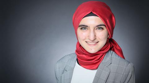 Rabia Küçükşahin studiert Jura an der Goethe-Universität in Frankfurt